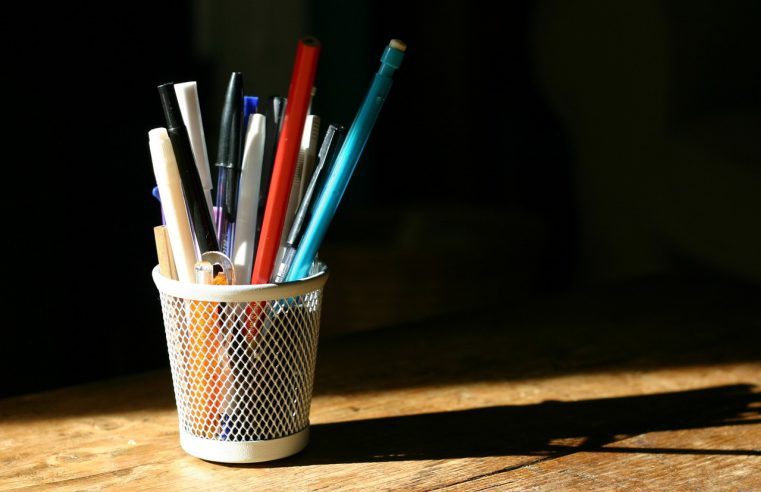Idealne miejsce dla długopisów